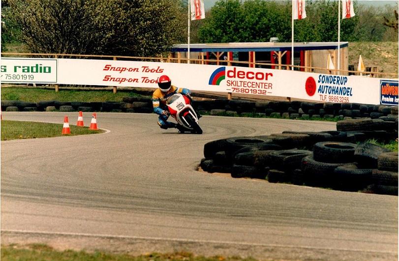 Der var i 89 også tid til at prøve en 80cc i Actionparken, Tørring