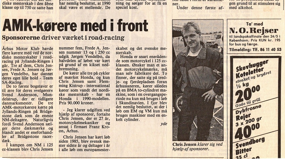 Presseomtale NM Jyllands-Ringen 1990 img2