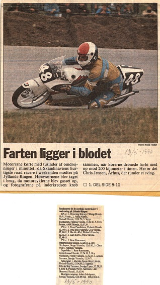 Presseomtale NM Jyllands-Ringen 1990 img1