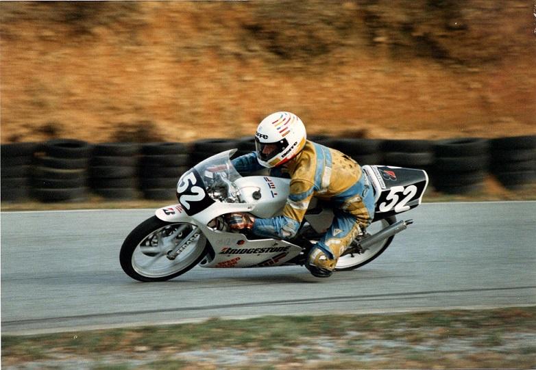Chris i sæsonen 1990, der gav ham titlerne, som både dansk og svensk mester.