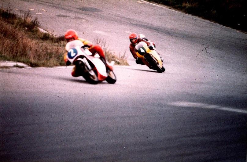 1982-09-26 Ring Djursland. DM finalen. Kaj Jensen med nr. 2 blev Danmarksmester mens Finn nr. 4 måtte udgå.