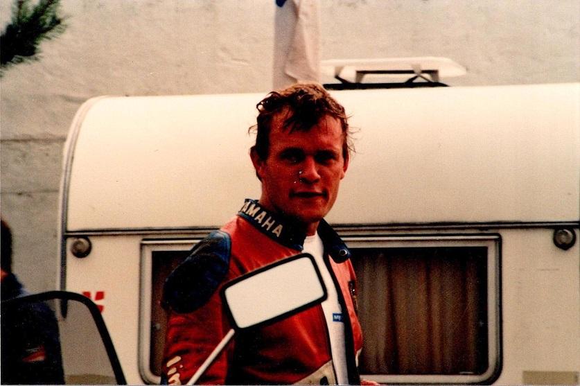 1985-08-18 RD int. Egon Rasmussen blev nr. 3 i FII, men vandt også dagens FI løb.
