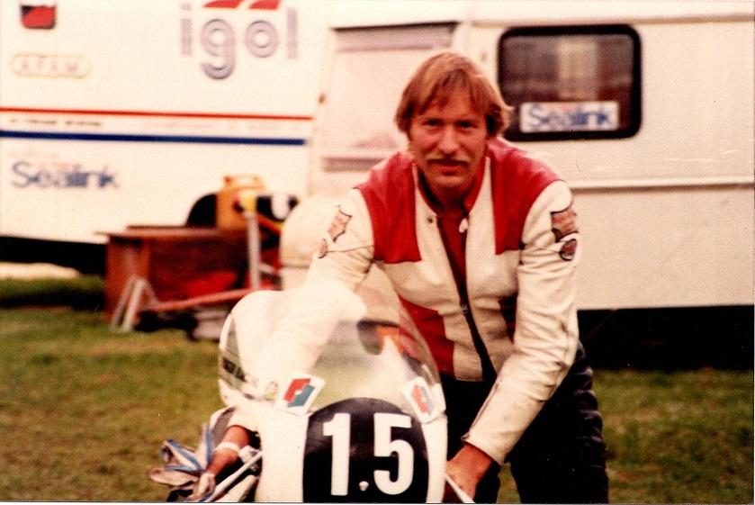1985-08-18 RD int. Pølle gjorde comeback efter 10 års fravær fra sporten.