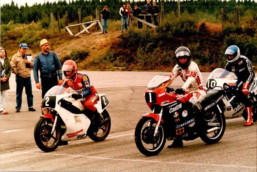 1986-07-12-13 Anderstorp img1. Finn 2, Henrik Ottesen 1, Jørgen Flintholm 10.