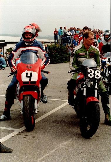1988-08 JR img1. Finn deltog i og vandt BOTT klassen. Her klar til udkørsel.