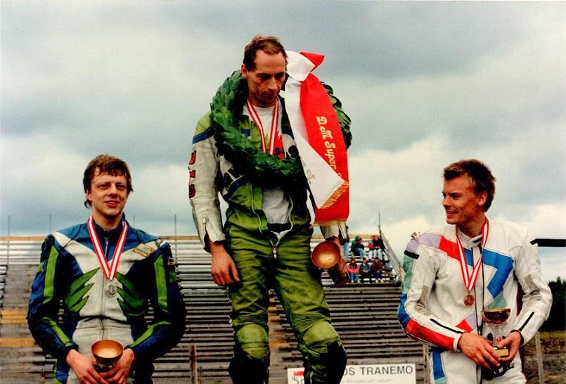 1993-08-28 Anderstorp img2. Arne Loklindt tv blev toer og Bjørn Donslund treer.