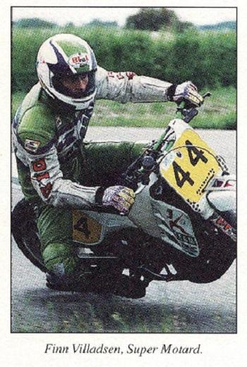 Finn kørte i 1995 også på Ring Djursland i Entusiast klassen. Her til 3. afd. af DM.