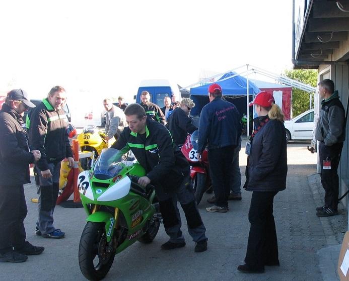 Kawasaki 29 kørt af Søren Lauridsen også i Team Midtfyn.