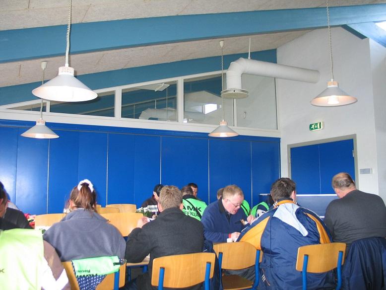 Fine forhold dette år til officialsbespisning i Jyllands-Ringens cafeteria. Img2