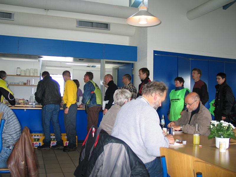 Fine forhold dette år til officialsbespisning i Jyllands-Ringens cafeteria. Img4