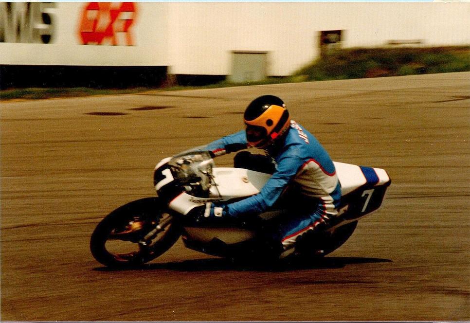 Frede A. Jensen, Minkfarmeren var også med i 125cc