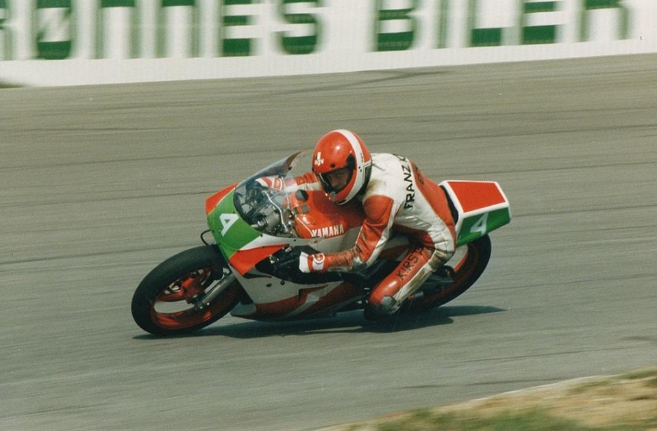 Paul Kierstein blev nr. 2 i denne afd. i 250cc klassen