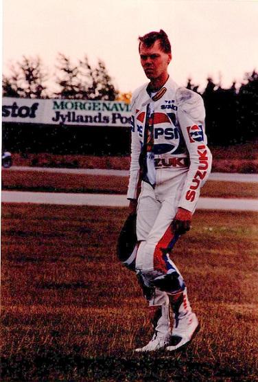 René Rasmussen brækkede kravebenet under lørdagens træning og kom derfor ikke til start i løbet.