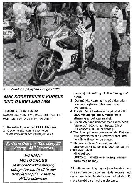 Kurt Villadsen var også med i 1982. Jens Jørgen bragte dette gode billede i klubblad 2005-02.