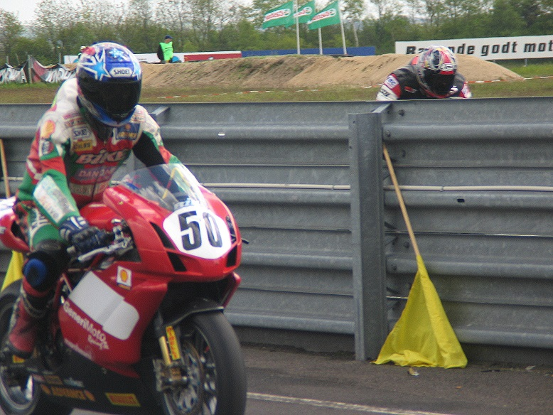 Peter Sköld på Ducati
