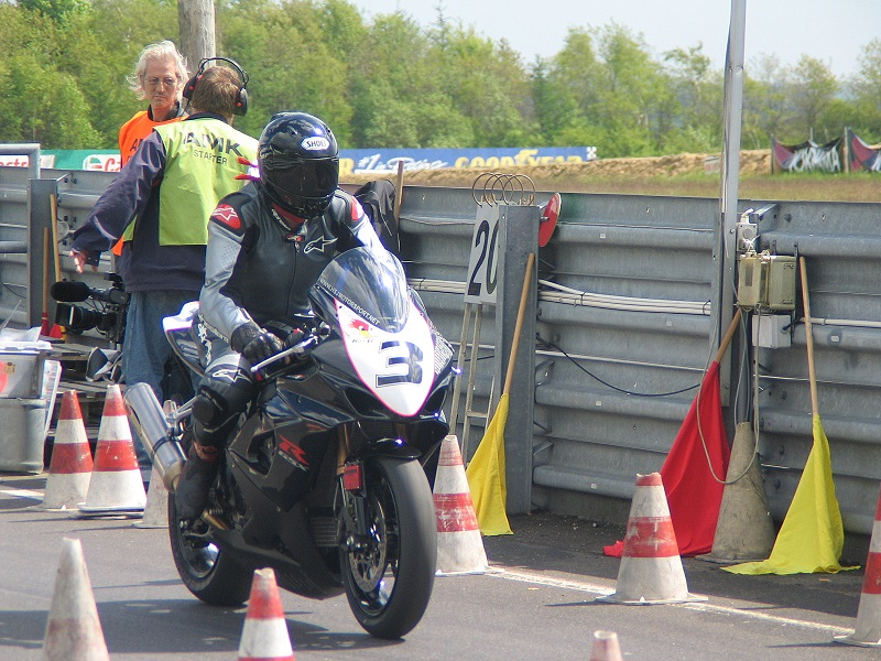 Den stærke finne Harri Maikola i Superbike.