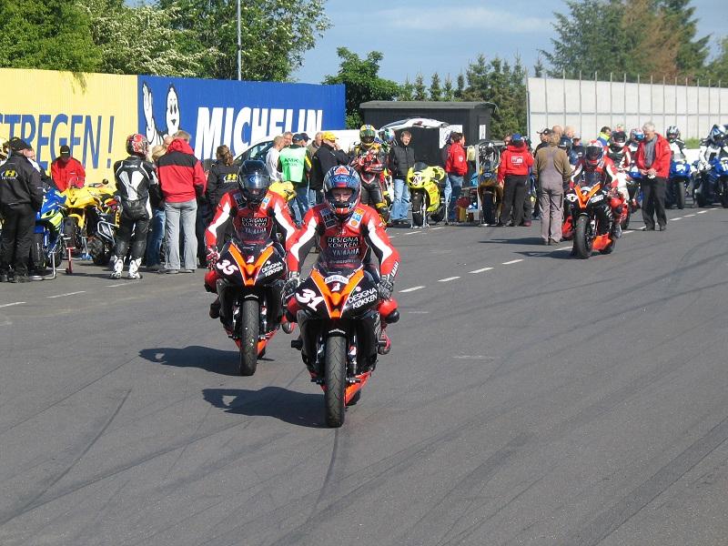 Team Designa kørerne Steven Tirsgård 31 og Steen Hansen 35.