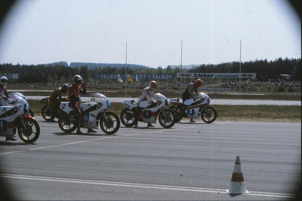 Paul Kierstein på startrækken.