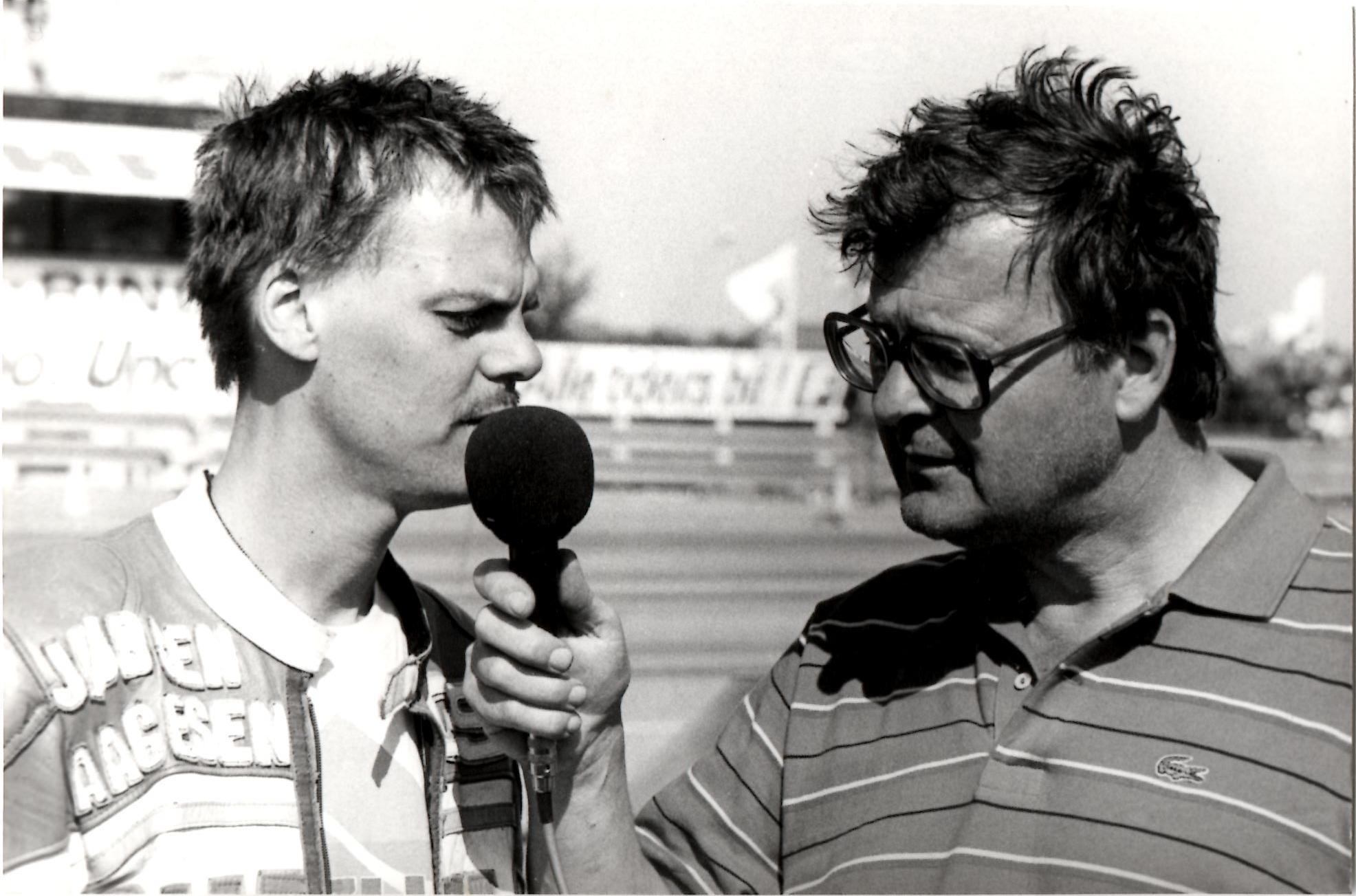 John Lundberg har fanget René til et interview.
