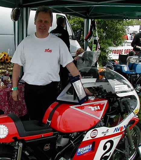 Poul Jørgen blev nr. 2 i samme klasse på Rocket 3.