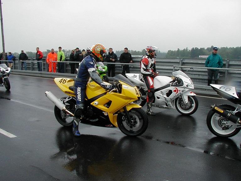 Tommy Rønn Triumph 46. Flemming Truelsen Suzuki 39.