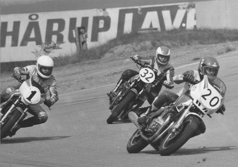 Paul Kierstein 20 deltog i Sportsmaskinklassen på Yamaha 900cc