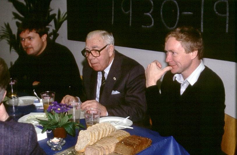 Søsporten 1990. Henning Brønd, Murerras og mig selv.