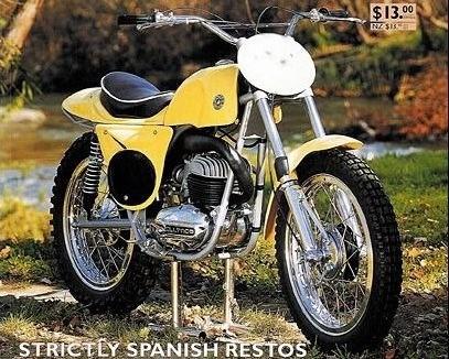 Min Bultaco var født sådan inden den blev delt op.