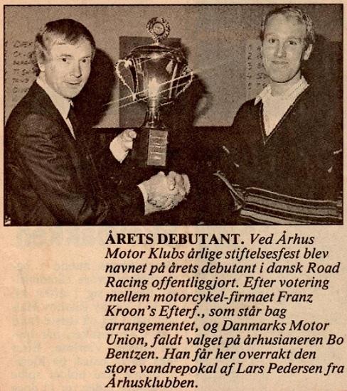 Avisbillede fra klubfesten i 1989.