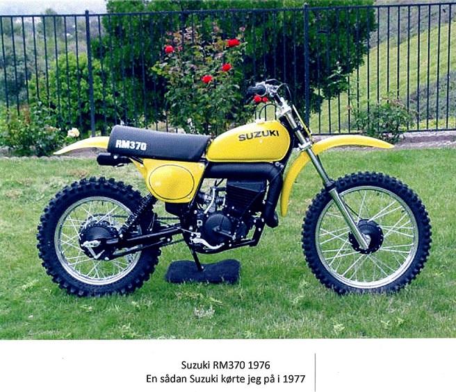 Et års tid havde jeg en Suzuki RM370, men gik så tilbage til Husqvarna 390cc.