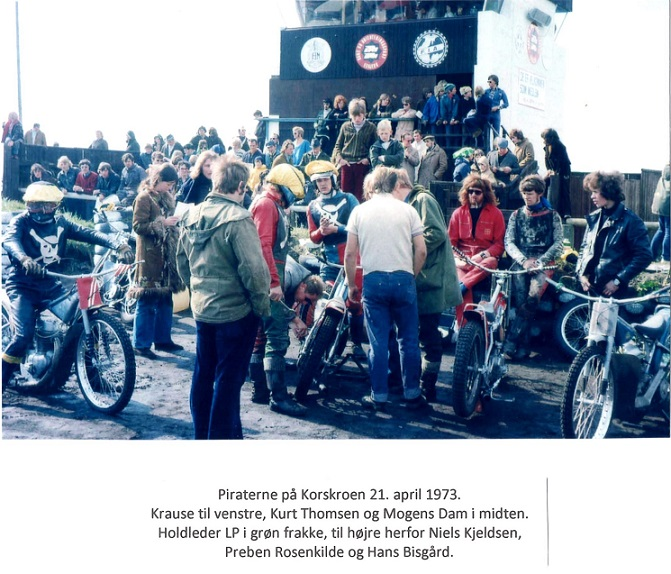 Piraterne på Korskroen 1973.