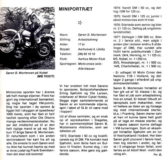 Miniportræt. MB 1977-09