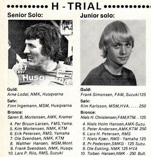 Også en 3. plads i DM H.trial. MB1978-12