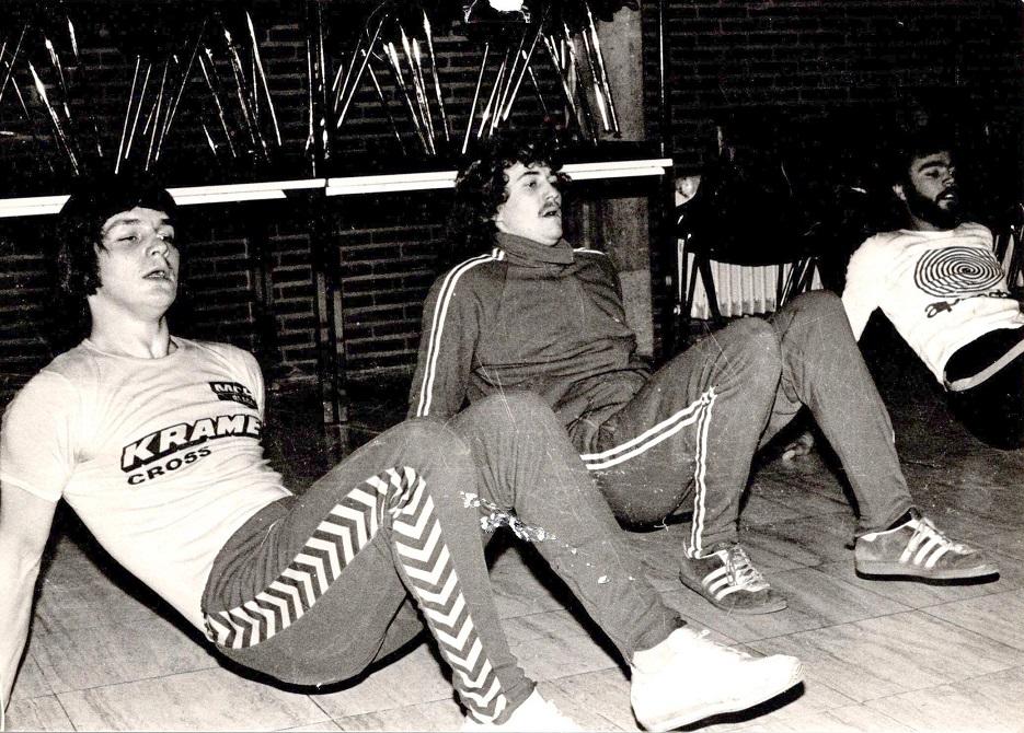 Søren fik kontrakt med Kramer for sæsonen 1978 og indledte året med en træningslejr i Lommel, Belgien. Bjarne Sjøholm th for Søren.
