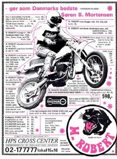 Søren i en reklame for HPS. MB 81-08