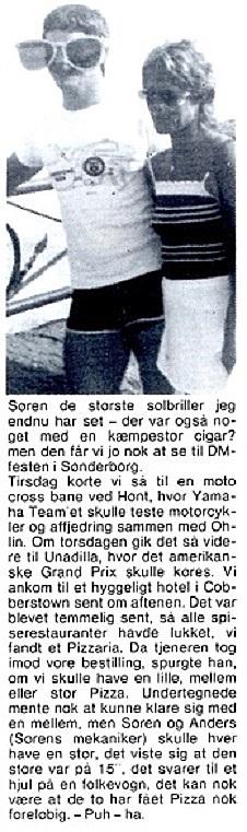 Søren kørte VM afdelingerne i Canada og USA, hvorfra Erling Sjøholm bragte denne beretning. MB 83-09 img3