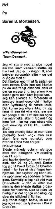 Søren B. klumme. MB 85-06 img1