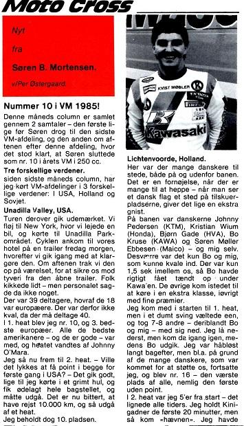 Søren B. klumme. MB 85-09 img1