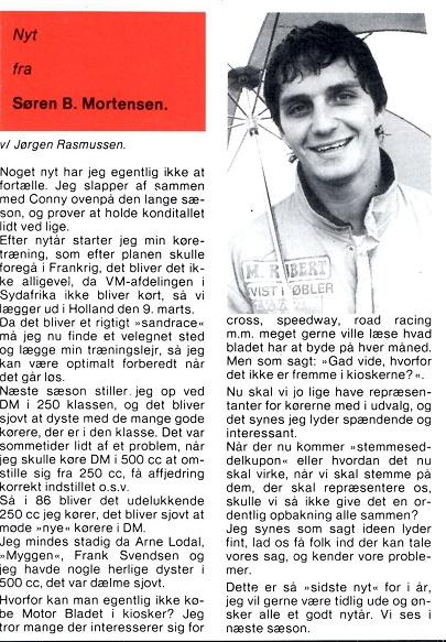 Søren B. klumme. MB 85-12 img1