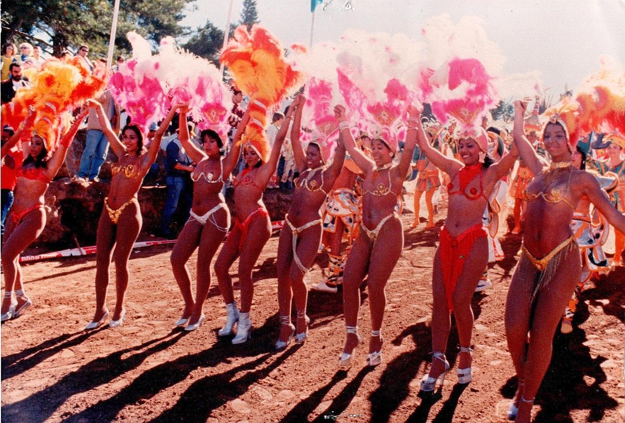 Brasilien og Samba-piger.