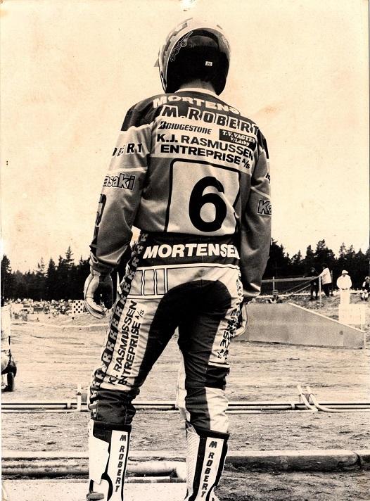 Søren fik fast nr. 6 i VM-serien 1988.