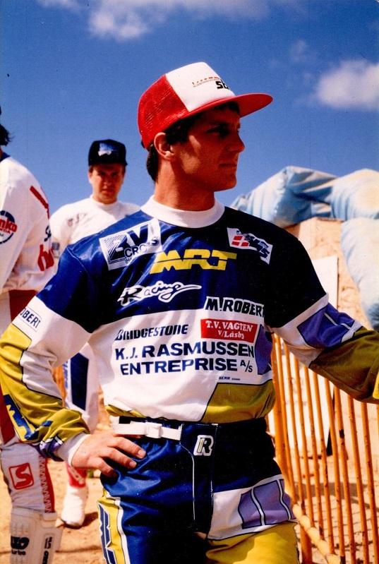 Søren i et eftertænksomt øjeblik i en succesfyldt 1988-sæson.