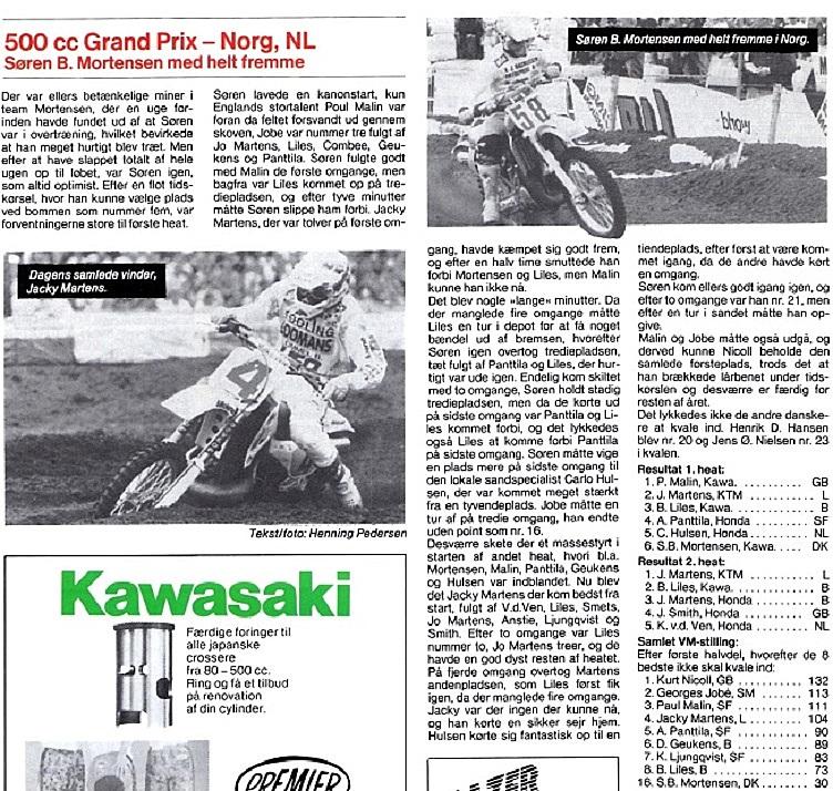 1991-07-08 VM 500 Cross