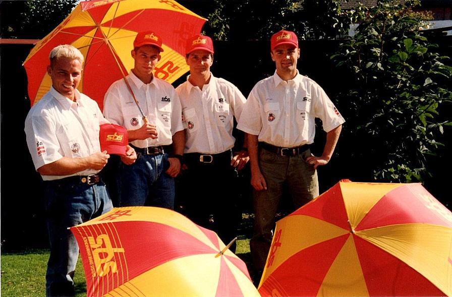 1996 MCdN Jesper, Brian, Søren,Mikkel