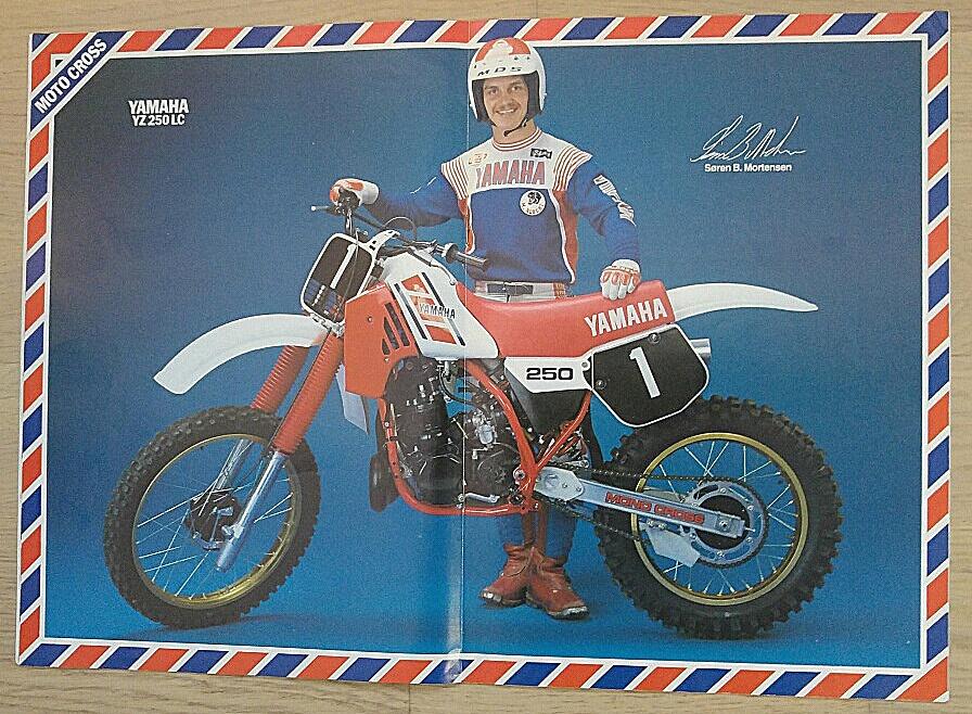 1983-11 MB. Yamaha bragte en annonce med Søren på midtersiderne.