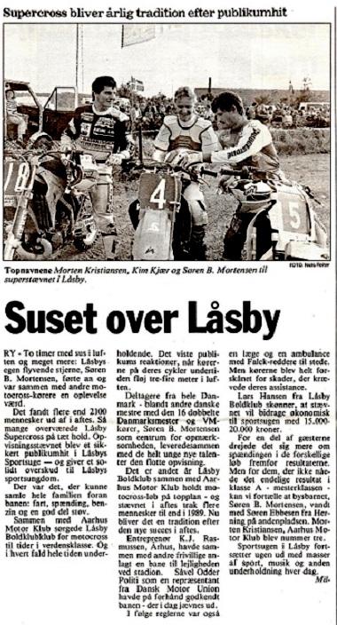 På hjemmeplan i Låsby blev der en ny sejr.