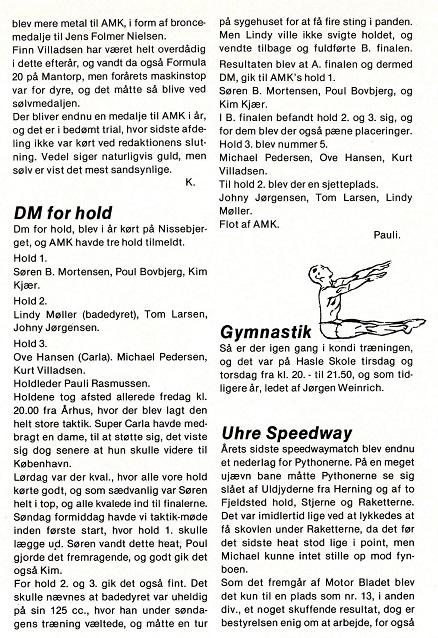 1985 Klub DM Hold Cross