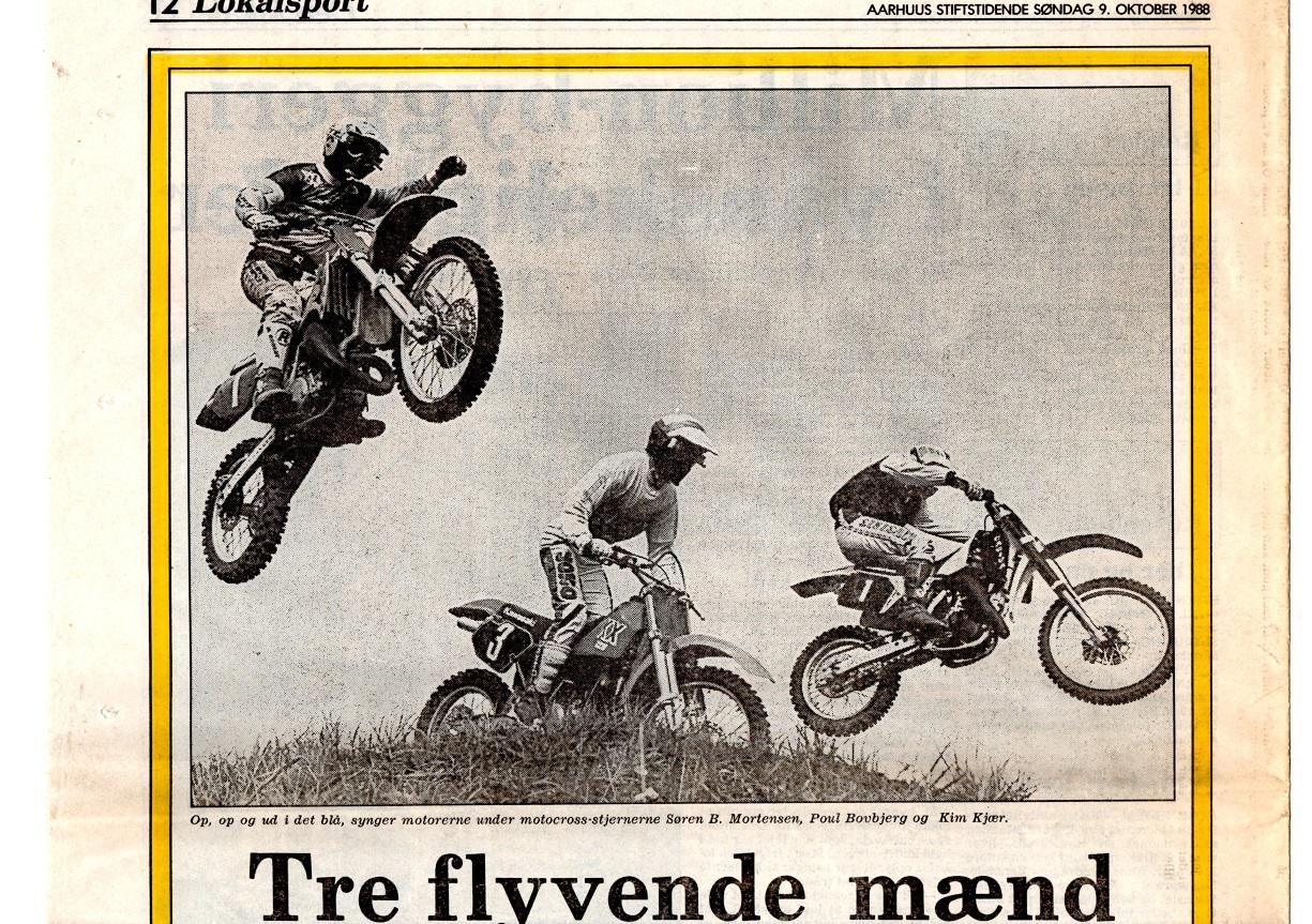 Foromtale avisklip 9 okt. 88 Søren-Poul-Kim før DM hold img1