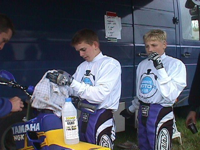 Rene D. Rasmussen tv og Henrik Vedel blev nr. 2 i mini-DM