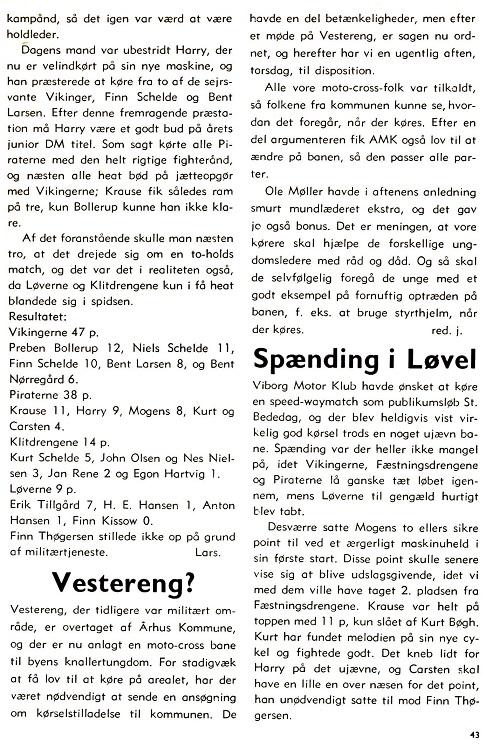 1972-06 Klubblad Vester Eng til cross